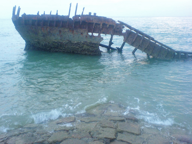 Shipwreched SS Vyner Brooke